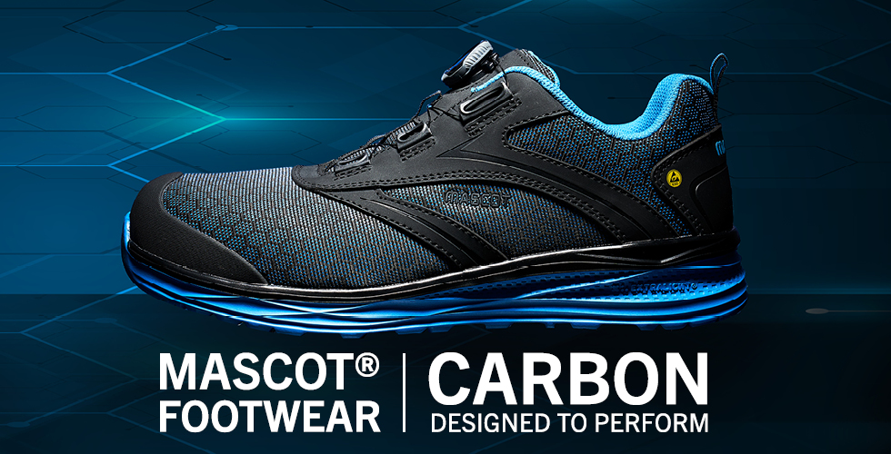 2020 - MASCOT® FOOTWEAR CARBON | Designed to Perform-Turvakengät-BOA® Fit System, F0251-909