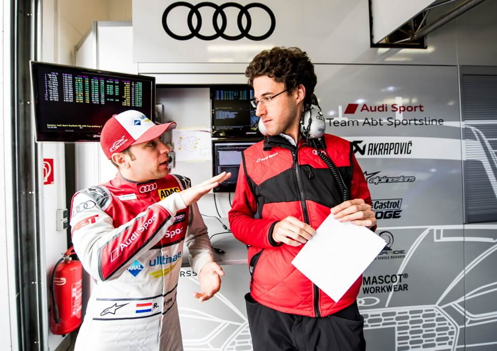 2 Mies - Audi Sport Official Supplier - MASCOT